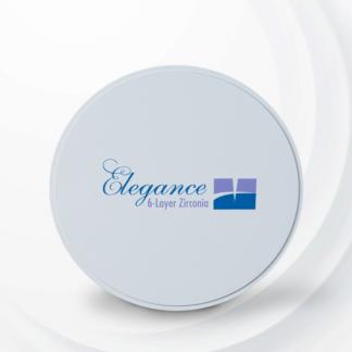 Elegance Zirconia 6 layers disc