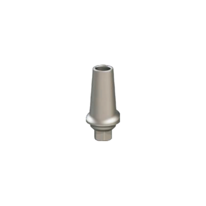 Concave Anatomic Straight Abutment - 1mm x 9.4mm