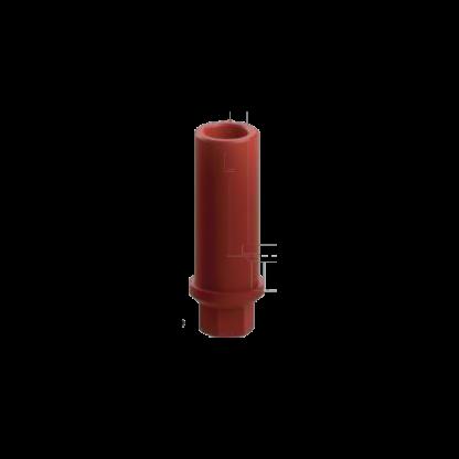 Plastic Abutment For Casting - 8mm - Hex