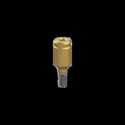 Straight Titanium Clik - Mini Kit - 4mm