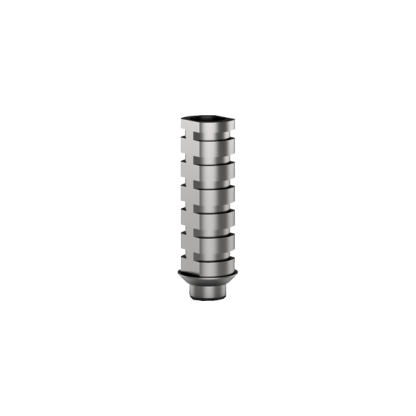 Temporary Titanium Abutment 8mm - Round
