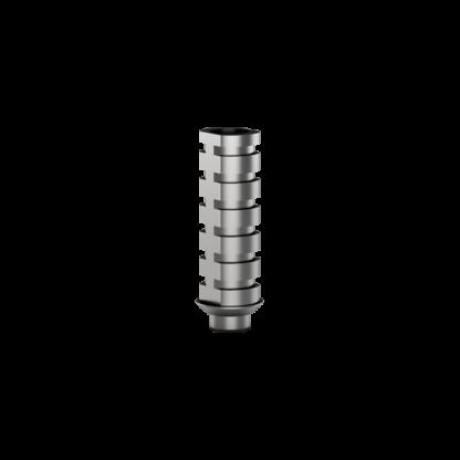 Temporary Titanium Abutment 8mm - Round